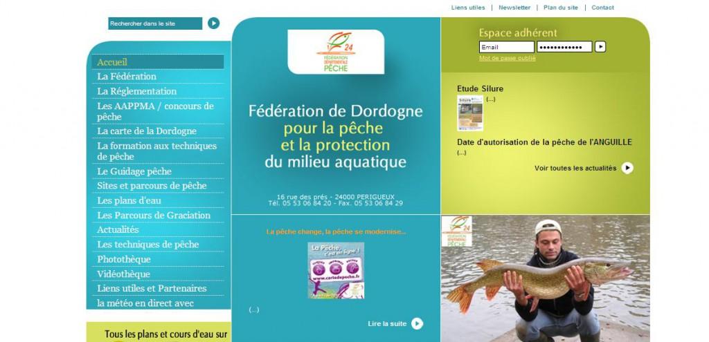 Les actions de la Fédération de Dordogne