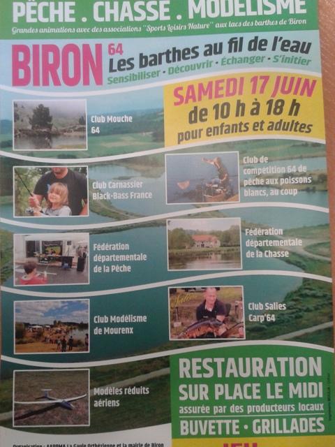 Journée découverte a Biron (64)