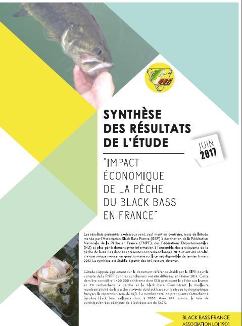 Impact économique de la pêche du black bass : la synthèse